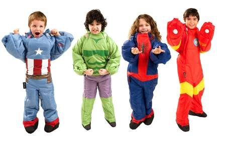 Superhero Sleeping Bags - The Marvel Selk-Bag Sleep System Turns Hero Costumes into Wearable Beds