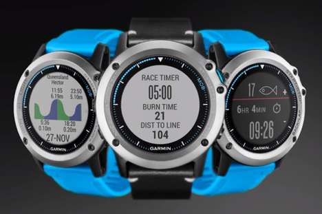 Aquatic Adventurer Wearables - The Garmin Quatix 3 Marine Watch Packs GPS, Fish Tracking and More