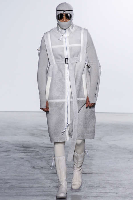 Militant Nomad Apparel - This Boris Bidjan Saberi Fall/Winter Collection Boats Bold Draping