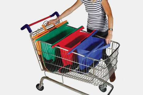 Shopping Cart-Suited Carriers - Trolley Bags Offer an Easier Way to Move Items from the Cart to Car