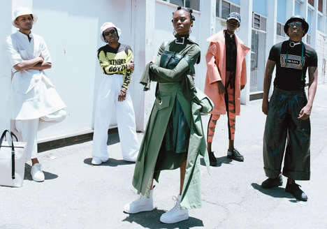 South African Streetwear Campaigns - The Latest Eytys Campaign Captures Johannesburg Style Portraits