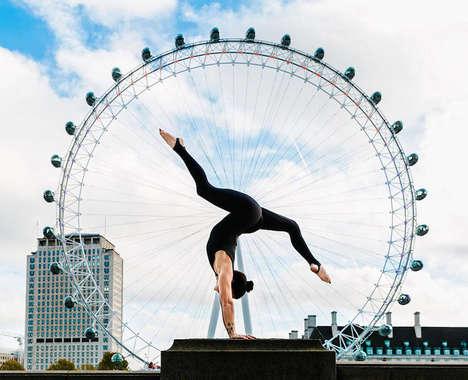 City-Centric Yoga Photography