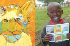 Artistic Micro-Donation Apps - Charity Gaming App Elbi Uses Drawings and Doodles to Make an Impact