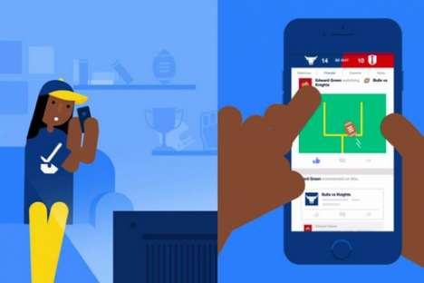 Sports Commentary Platforms - The 'Facebook Sports Stadium' Application Helps Fans Connect
