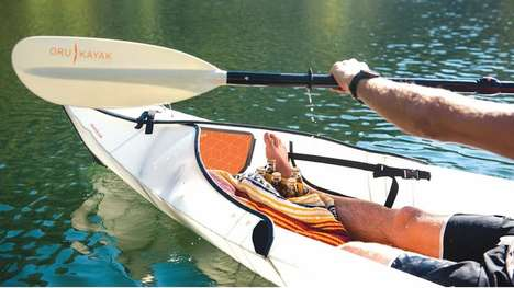 Ultra-Stable Kayaks - The Beach Kayak is Designed For Optimal Speed and Stability