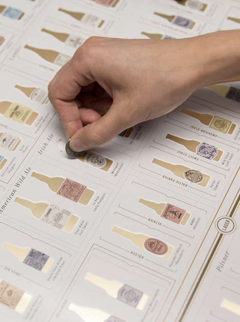 Scratch-Off Beer Infographics - Pop Chart Lab's Drink Infographic Operates Like a Lottery Ticket