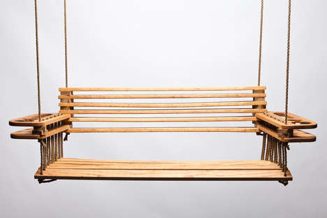 Fastener-Free Porch Swings - The 'Arrowhead Porch Swing' Offers a Modern Take on an American Classic