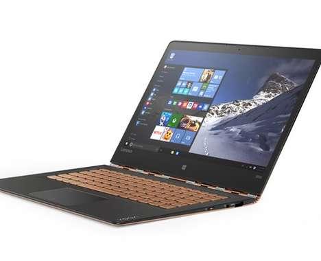 Carbon-Fiber Laptops