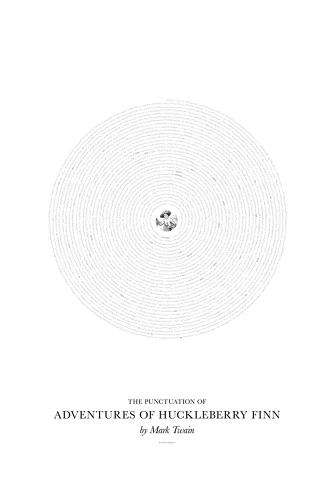 Punctuated Literary Posters - These Renderings of Iconic Literary Novels Reveal Only  Punctuation