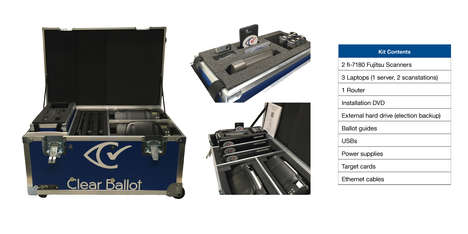 Robust Ballot Box Designs - The 'Clear Ballot' Voting Machines are Built to Last for Years to Come