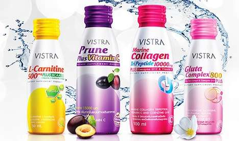 Complex Vitamin Shots - 'VISTRA DRINK' Health Beverages Make it Easy to Drink One's Vitamins