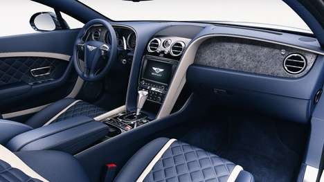Stone Veneer Car Interiors - These Bentley Interiors Use Indian Slate and Quartzite Stone