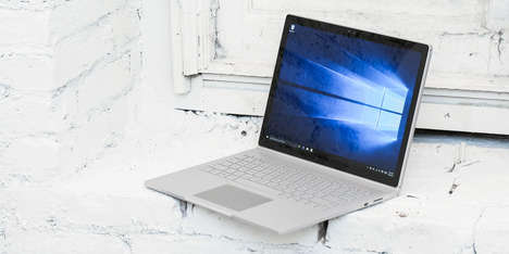Rapid-Processing Laptops - The New $3,200 Surface Book Offers Unprecedented Power and Performance