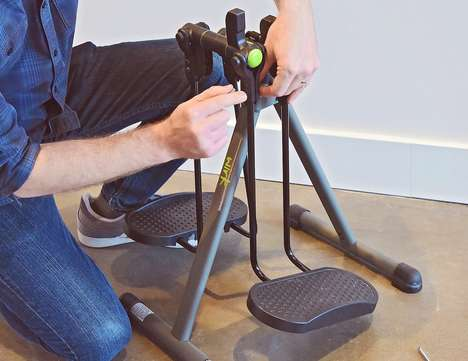 Exercising Desk Striders - The WIRK Orbit Turns Sitting Stationary at a Desk into a Workout