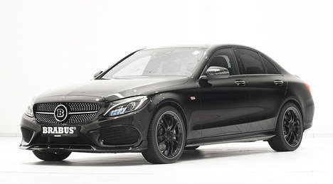 Elegant Tuned-Up Sedans - The Brabus C 450 4MATIC Custom Mercedes Offers Luxurious Features