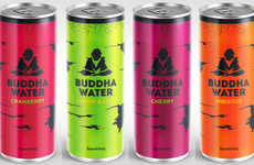 Sparkling Birch Sap Beverages - The New 'Buddha Water' Range is Made from Scandinavian Birch Sap