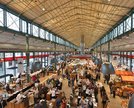 Sprawling Italian Food Markets