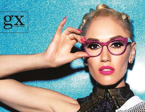 Songstress Eyewear Collections - Gwen Stefani's L.A.M.B. Label is Launching an Eyewear Collection