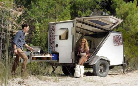 Versatile Camping Trailers - The TigerMoth Camper Trailer Provides Ample Amenities for Campers