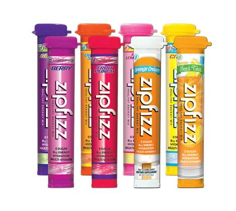 Fruity Electrolyte Supplements - These Zipfizz Energy Shots Feature a Signature B-12 Formula