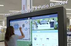 Backyard Design Kiosks - Canadian Tire's Patio Builder Tool Helps Consumers Visualize with VR