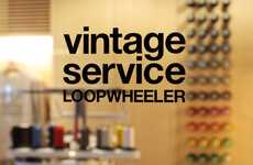 'LOOPWHEELER Vintage Service' is an Exclusive Concept Store in Tokyo