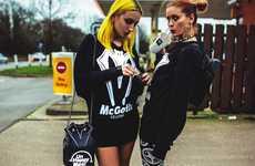 Ironic Goth Apparel - The Killstar 'Like It Fast' Lookbook Boasts Remixed Logos