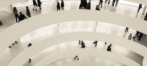 Virtual Museum Visits - The Guggenheim Museum's Artwork Can Now Be Viewed Through Google Street View