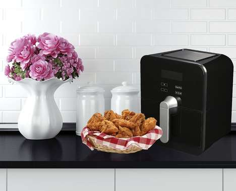 Calorie-Cutting Cooking Appliances - The Rosewill Air Fryer Cooks Food with Just a Touch of Oil