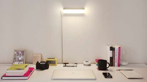 Ultra-Portable Lamps - This Portable LED Lamp Emits Some Seriously Intense Light