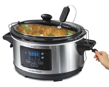 Smart Slow Cookers - The Hamilton Beach Set & Forget Cooker Does the Cooking For You