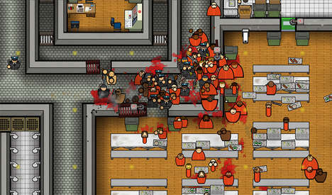 Prison-Constructing Games - The Prison Architect Console Game Requires You to Construct a Prison