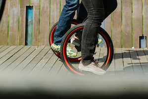 The Lunicycle Bike Features a Lower Centre of Gravity for Easy Learning
