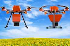 WiFi-Connected Agricultural Drones - These Drones Bring the Internet to Rural Farmers in Sicily