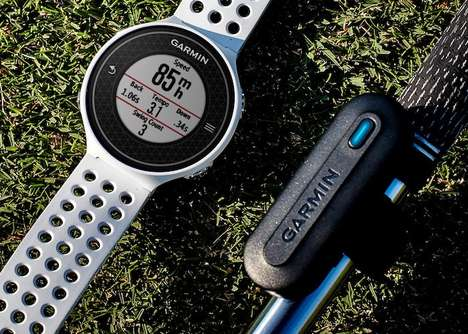 Game-Improving Golf Sensors - Garmin's 'TruSwing' Golf-Tracking Sensor Improves Golf Swings