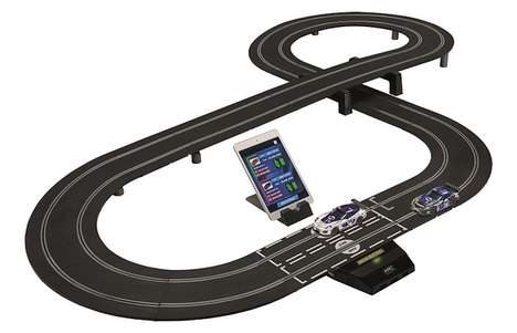 App-Connected Racetrack Toys - This Bluetooth Race Car Toy Works Alongside an Accompanying App