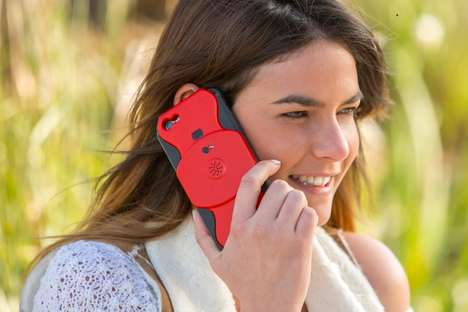 Call-Recording Phone Cases - The 'Just in Case' Phone Case Records Calls with a Built-In Button