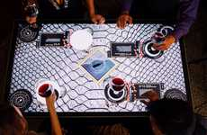 Interactive Wine Tables