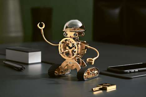 Luxurious Robot Clocks - MB&F Has Launched a Line of Fancy Robot-Inspired Clocks