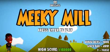 Rap Feud Video Games - The 'Meeky Mill' Video Game Hilariously Captures the Drake and Meek Mill Fued
