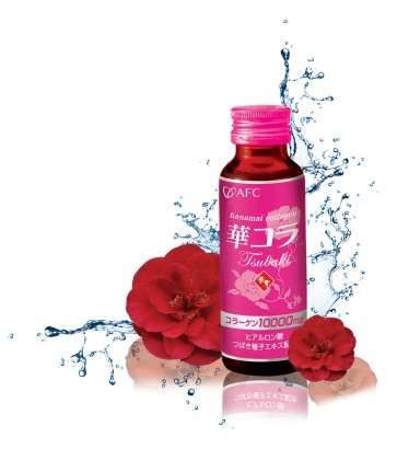 Vitamin-Packed Shots - The Tsubaki Perfect Beauty Drink Stimulates the Body's Natural Functions