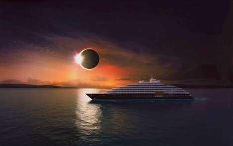 Eco-Friendly Adventurer Ships - The Scenic Eclipse Ocean Cruiser Design Promises Only the Best