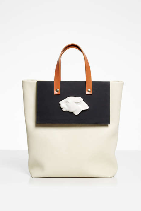 Elegant Animal Totes - Andres Gallardo's Porcelain Handbag Collection is Inspired by Wildlife