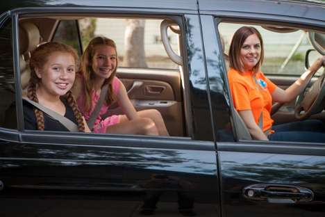 Child-Ridesharing Apps - The HopSkipDrive App Lets Kids Get Rides From Trusted Adults