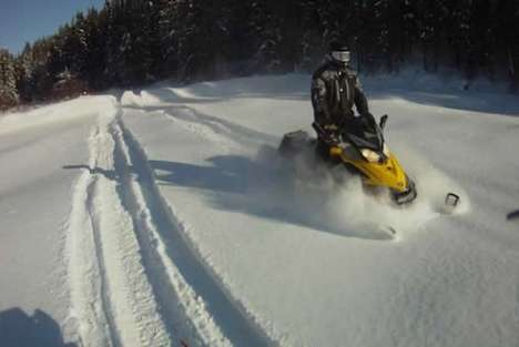 Snowmobile Trail Apps - The RiderX App Maps Snowmobile Trails in Your Vicinity