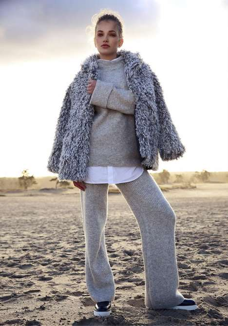 Layered Leisurewear Editorials - Martijn Smouter's Latest Series Highlights Comfortably Cozy Knits