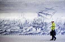 Nautical Transit Murals