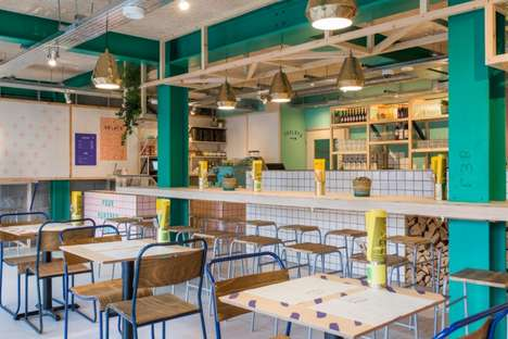 Eclectic Fermented Pizza Restaurants - 400 Rabbits is a Pizza Joint Located in South East of London