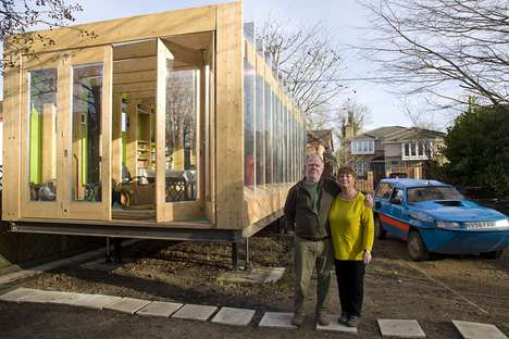 Flood-Proof Housing - The 'Greenhouse That Grows Legs' is Designed to Prevent Water Damage