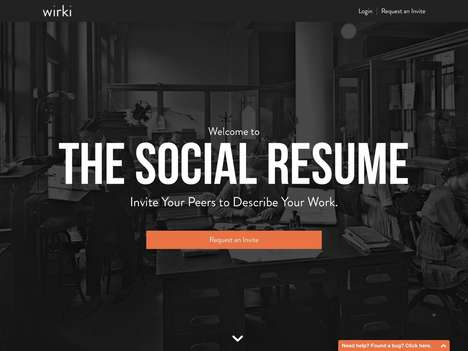 Crowdsourced Resume-Building Services - This Platform Helps Users Create Peer-Authored Resumes